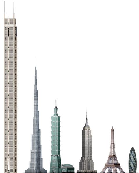 Burj Khalifa Johnston Architects