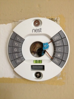wiring new thermostat